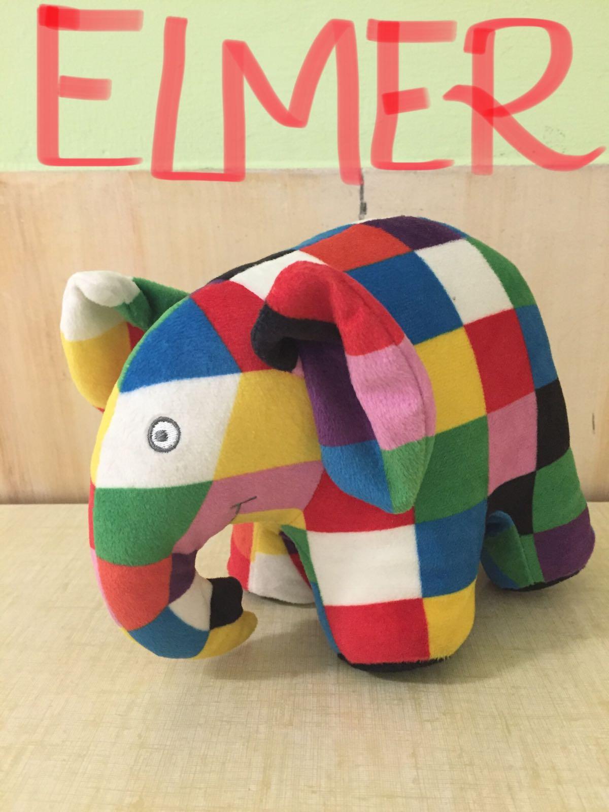 Tutti i colori di elmer elefante per un natale scintillante - Colori per natale ...